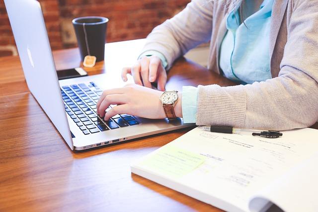 psaní a klávesnice