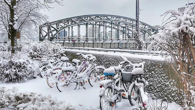 studený sníh