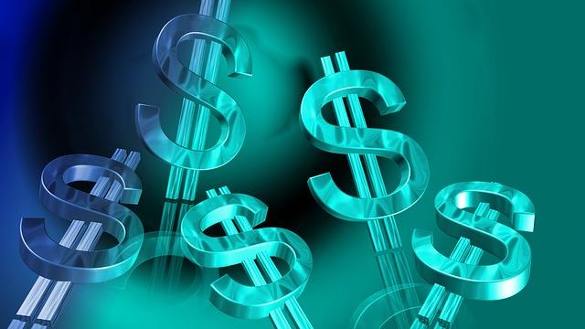 znaky dolarů