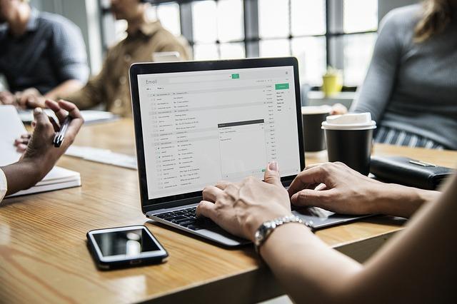 počítač na business jednání