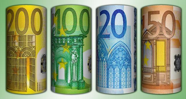 ruličky eura
